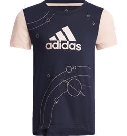 Adidas G LARGE POLYESTER T-SHIRT LEGEND INK