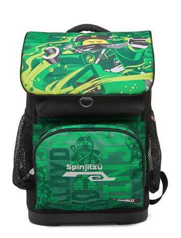 Lego Bags Optimo School Bag Accessories Bags Backpacks Vihreä Lego Bags LEGO® NINJAGO® ENERGY