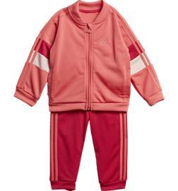 Adidas K SHINY TS SET SEMI FLASH RED