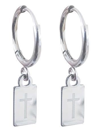 PIPOL'S BAZAAR Faith Tag Ear Silver Korvakoru Korut Hopea PIPOL'S BAZAAR SILVER