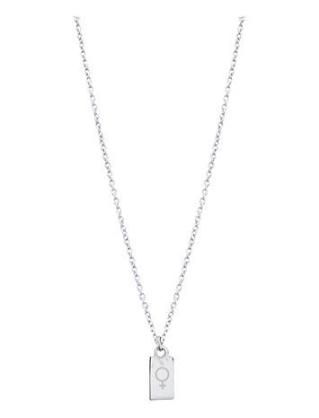 PIPOL'S BAZAAR Femine Tag Nec Silver Accessories Jewellery Necklaces Dainty Necklaces Hopea PIPOL'S BAZAAR SILVER