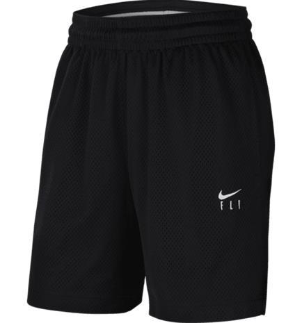 Nike W NK FLY ESSENTIAL SHORT BLACK/WHITE