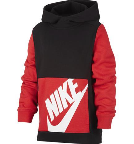 Nike J NSW PO KIDS PACK HOODIE BLACK/RED