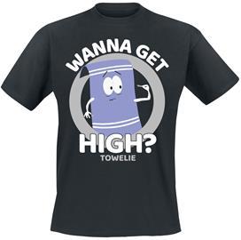 South Park - Wanna Get High? - T-paita - Miehet - Musta