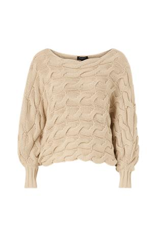 Selected Femme Neulepusero slfCarma LS Cable Knit Boatneck