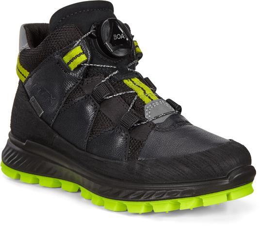 ECCO Exostrike Boots Boys, black/black