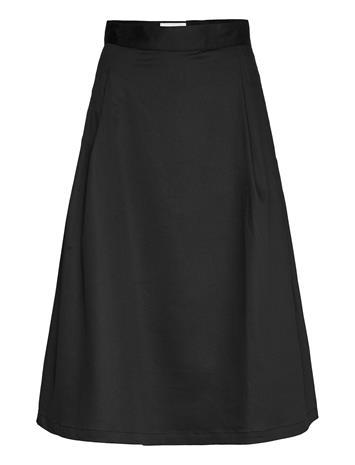 Makia Gaia Skirt Polvipituinen Hame Musta Makia BLACK