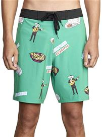 RVCA Hot Fudge Boardshorts green Miehet
