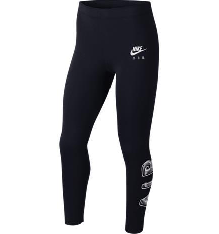 Nike G NSW AIR FAVORITE LEGGINGS BLACK/WHITE