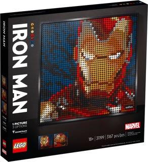 Lego Art 31199, Marvel Studios Iron Man