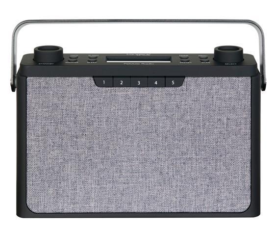 Tangent Pebble Radio Sort, bluetooth radio