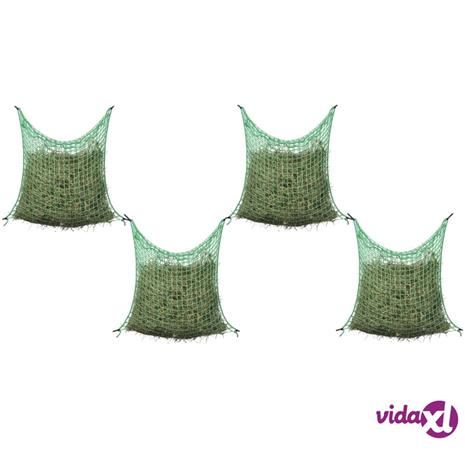 vidaXL Heinäverkot 4 kpl neliö 0,9x1,5 m PP
