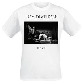 Joy Division - Closer - T-paita - Miehet - Valkoinen