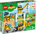 Lego Duplo 10933, Torninosturi ja rakennustyömaa