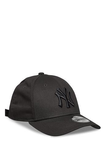 New Era Kids League Essential 940 Ney Accessories Headwear Caps Musta New Era BLK