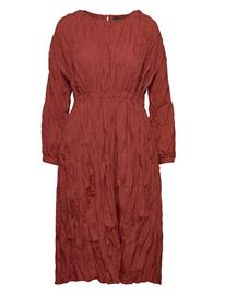Gina Tricot Samara Dress Polvipituinen Mekko Punainen Gina Tricot BARN RED (7917)