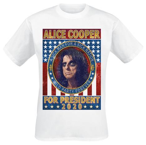 Alice Cooper - I'm With Coop - T-paita - Miehet - Valkoinen