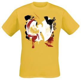 Wu-Tang Clan - Brush Strokes - T-paita - Miehet - Keltainen