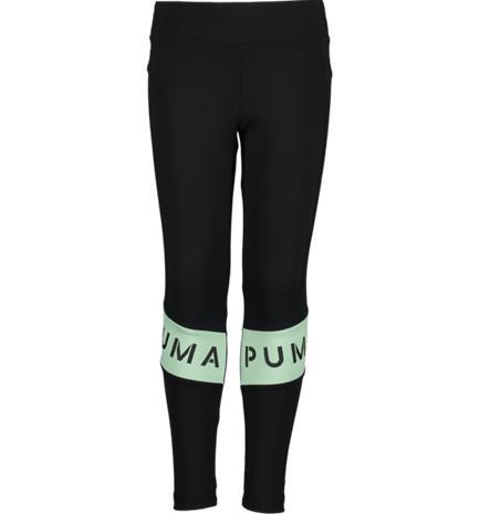 Puma G ESS TIGHT LEGGING PUMA BLACK/GREEN