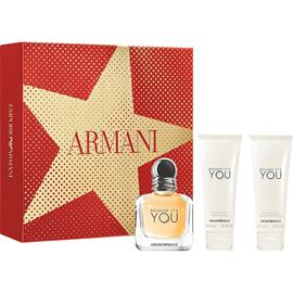 Giorgio Armani Because It's You She Set - EdP 50 ml + Shower Gel 75 ml + Body Lotion 75 ml