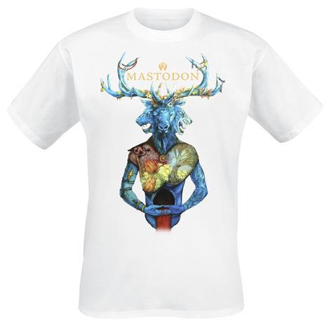 Mastodon - Mastodon - T-paita - Miehet - Valkoinen
