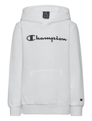Champion Hooded Sweatshirt Huppari Valkoinen Champion WHITE, Lastenvaatteet