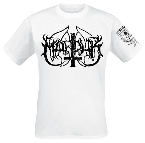 Marduk - Frontschwein - T-paita - Miehet - Valkoinen