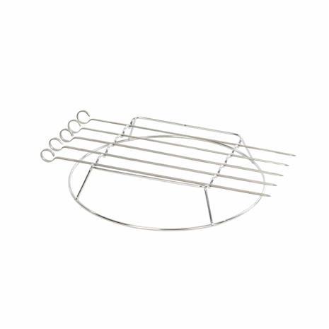 Landmann Modulus Skewer Set (15914), grillivartaat 5 kpl + teline