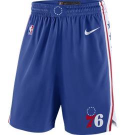 Nike PHI M NK SWGMN SHORT ROAD RUSH BLUE