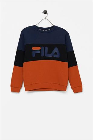Fila Collegepusero Teens Willy Blocked Crew