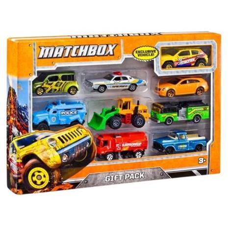 Mattel Matchbox Meta Cars - Set of 9 (FTR21) (Päävarasto)