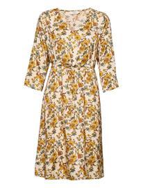Cream Emmeliecr Short Dress Polvipituinen Mekko Cream TINSEL FLOWERS, Naisten hameet ja mekot