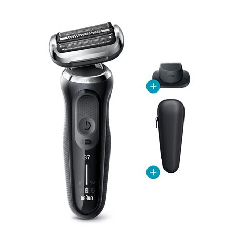 Braun Series 7 70-N7200cc 360°Flex Wet & Dry, partakone