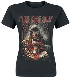 Powerwolf - Your Blood - T-paita - Naiset - Musta