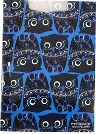 Ivana Helsinki Owls A4 nidottu vihko