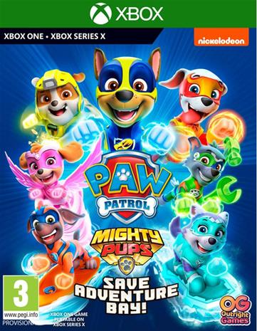 Paw Patrol Mighty Pups: Save Adventure Bay!, Xbox One -peli