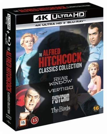The Alfred Hitchcock Classics Collection (4K UHD + Blu-ray), elokuva