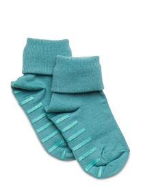Polarn O. Pyret Sock Wool Preschool Jarrusukat Sininen Polarn O. Pyret TEAL