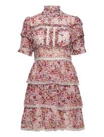By Malina Harlow Dress Polvipituinen Mekko Monivärinen/Kuvioitu By Malina SORBET FLORAL