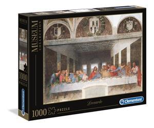 Leonardo, The Last Supper, Palapeli, 1000 palaa, Clementoni