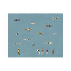 Fine Little Day Swimmers juliste 40x50 cm
