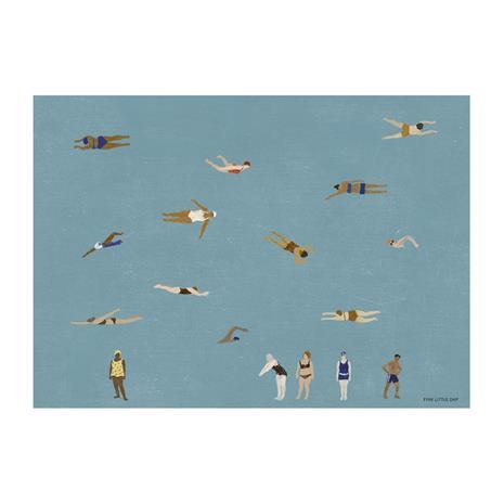 Fine Little Day Swimmers juliste 50x70 cm