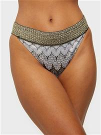 River Island Plain Crochet Foil Side Brief