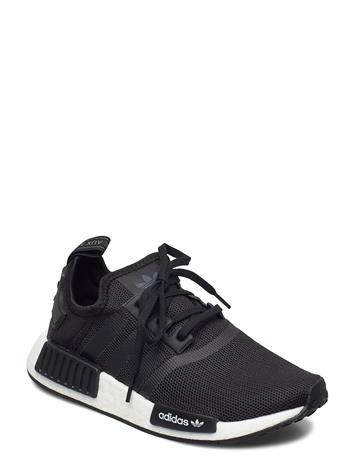 adidas Originals Nmd_r1 J Tennarit Sneakerit Kengät Musta Adidas Originals CBLACK/CBLACK/FTWWHT, Lasten kengät