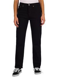 Levi's 501 Crop Jeans black heart Naiset