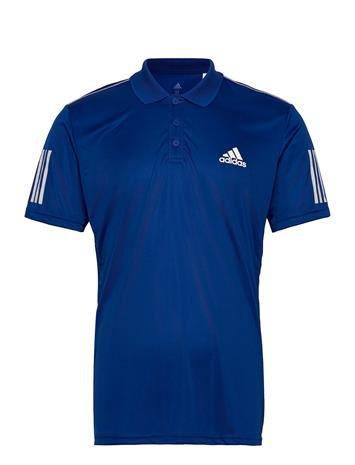 adidas Tennis 3-Stripes Club Polo Shirt T-shirts Short-sleeved Sininen Adidas Tennis BLUE