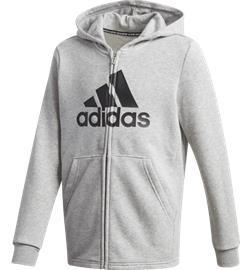 Adidas J MH BOS FZ HOOD MEDIUM GREY HEATHE