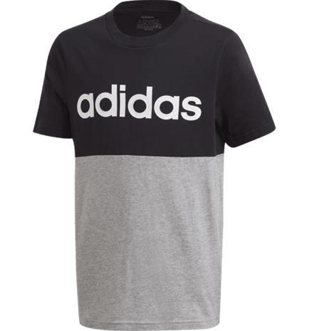Adidas J LIN CB TEE BLACK/GREY