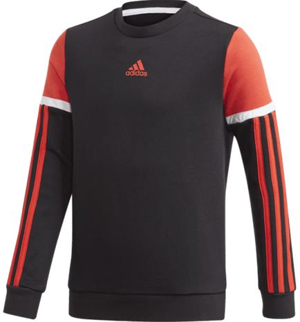 Adidas J BOLD CREW BLACK/RED