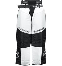 Unihoc KEEPER PANT SR BLACK/WHITE